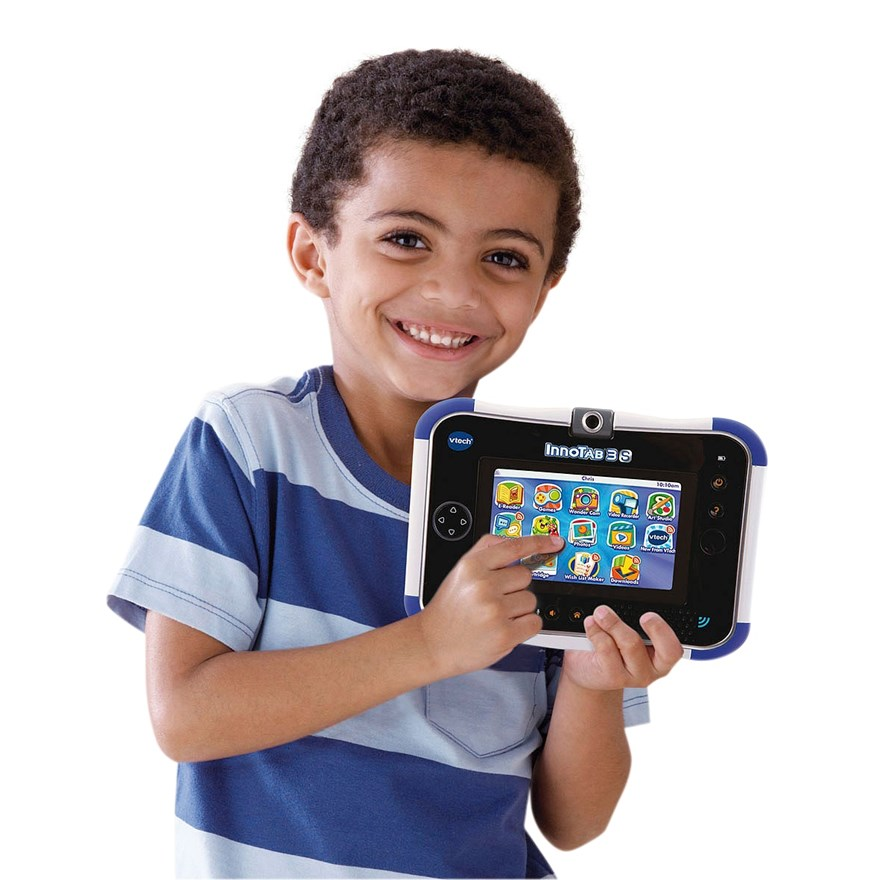 VTech InnoTab 3S Blue with Battery Pack image-0