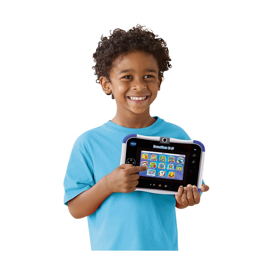 VTech InnoTab 3S Blue with Battery Pack image-1