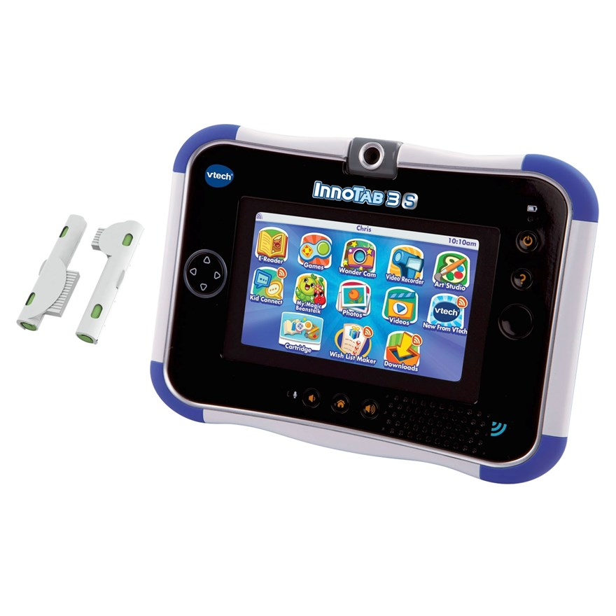 VTech InnoTab 3S Blue with Battery Pack image-2