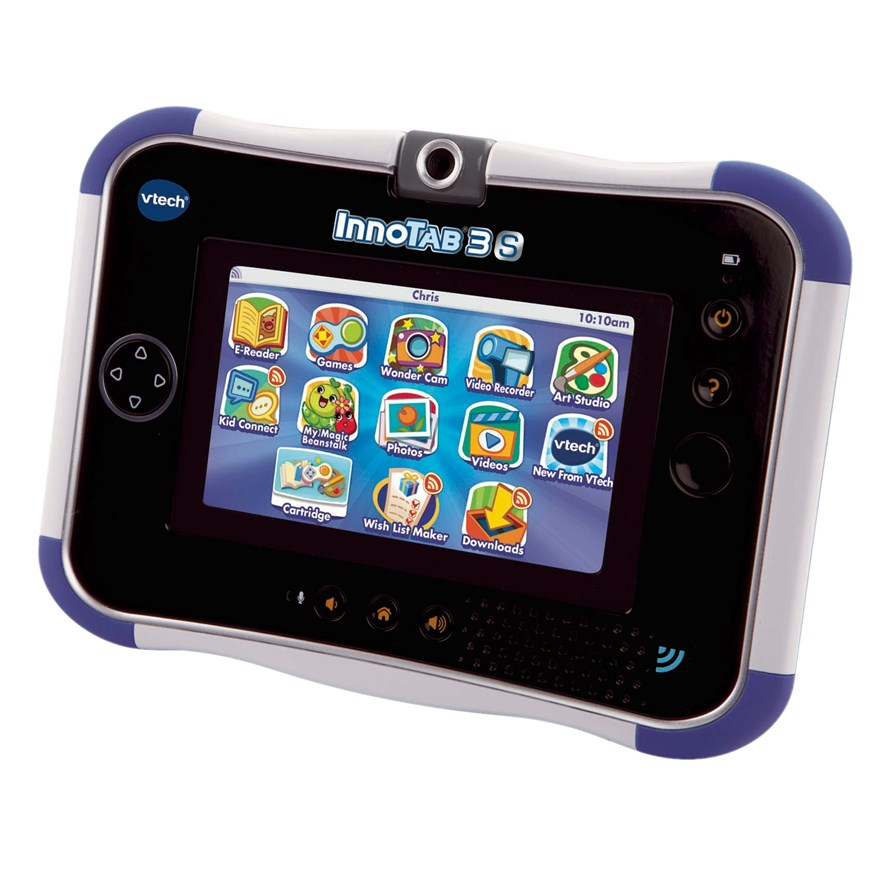 VTech InnoTab 3S Blue with Battery Pack image-3