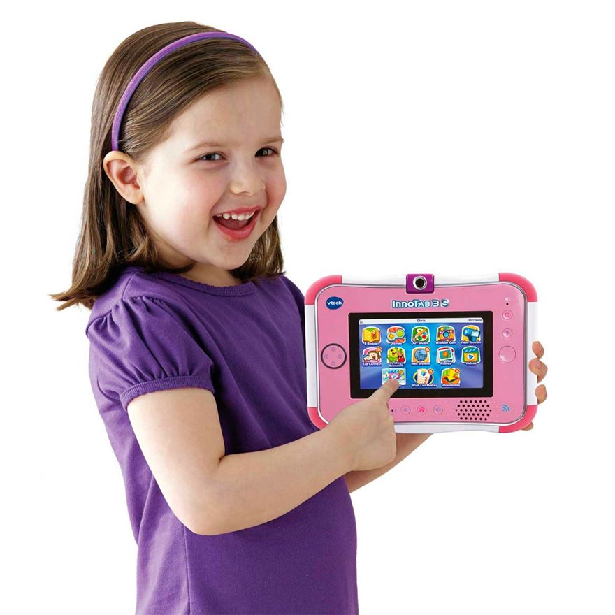 VTech InnoTab 3S Pink with Battery Pack image-0