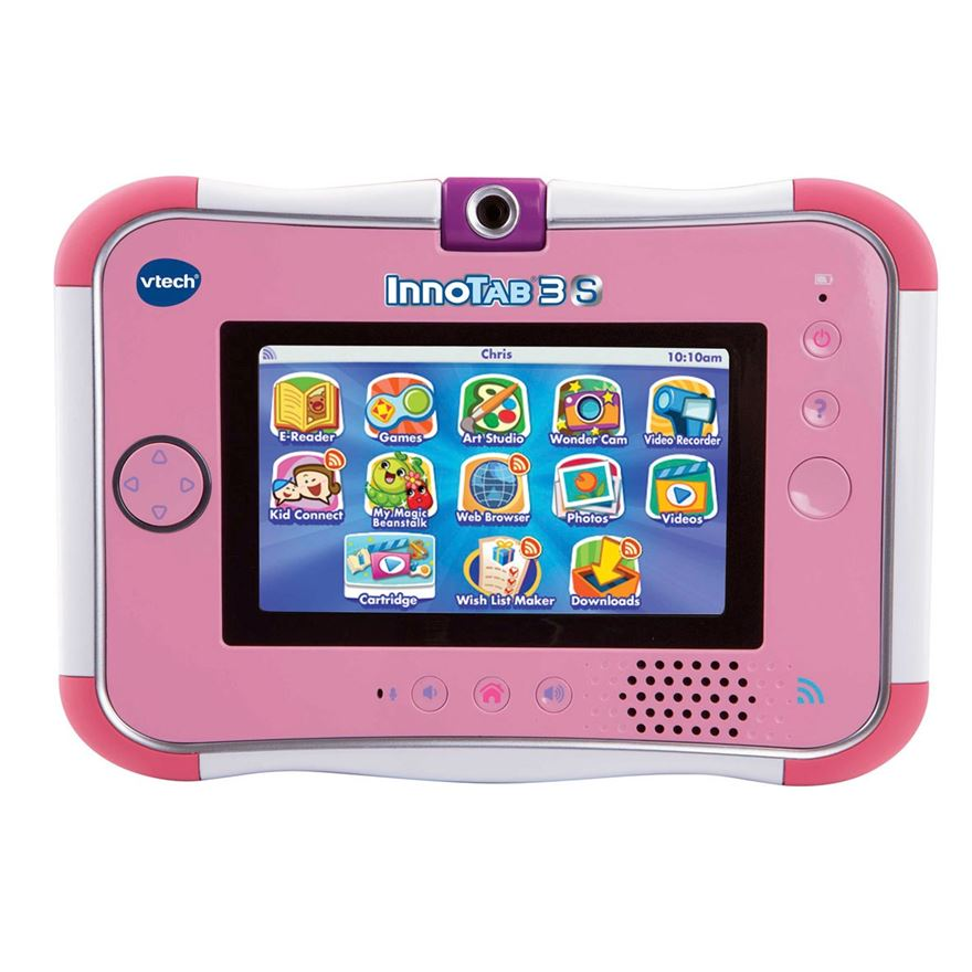 VTech InnoTab 3S Pink with Battery Pack image-1
