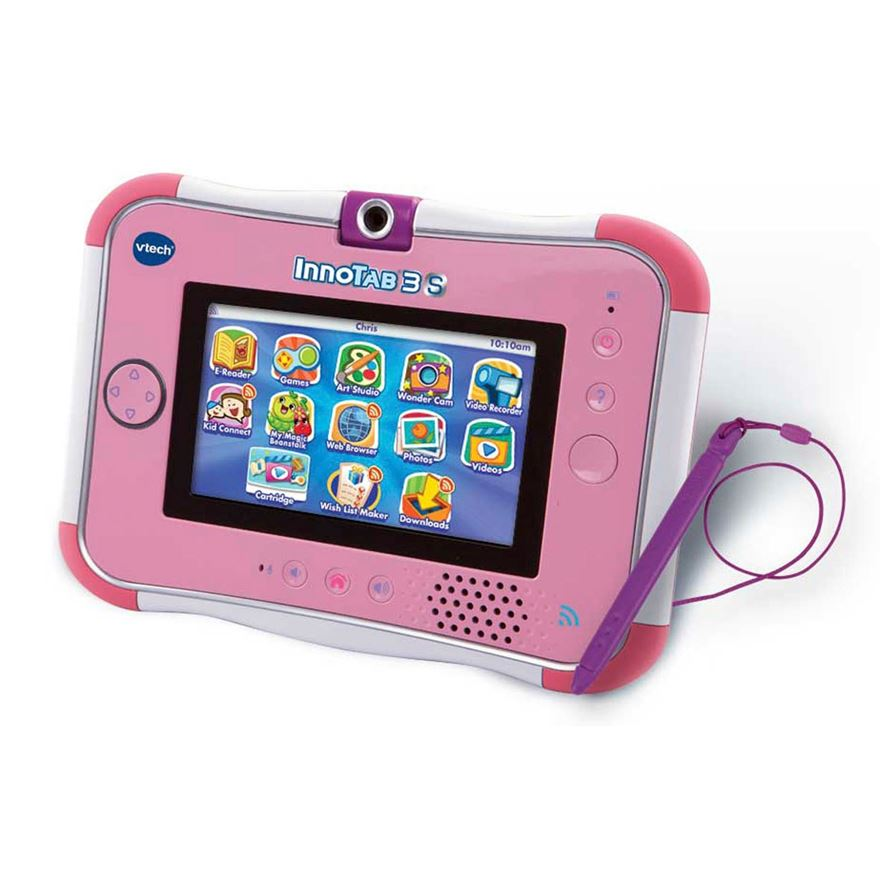 VTech InnoTab 3S Pink with Battery Pack image-2