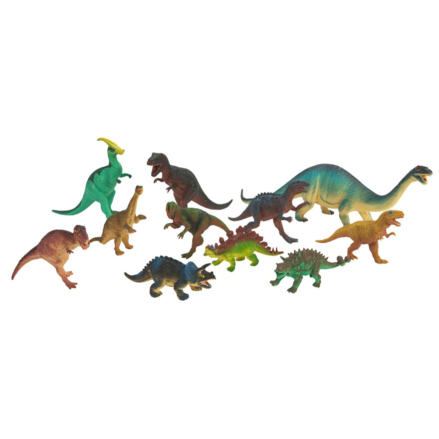11 Piece Dinosaur Set image-0