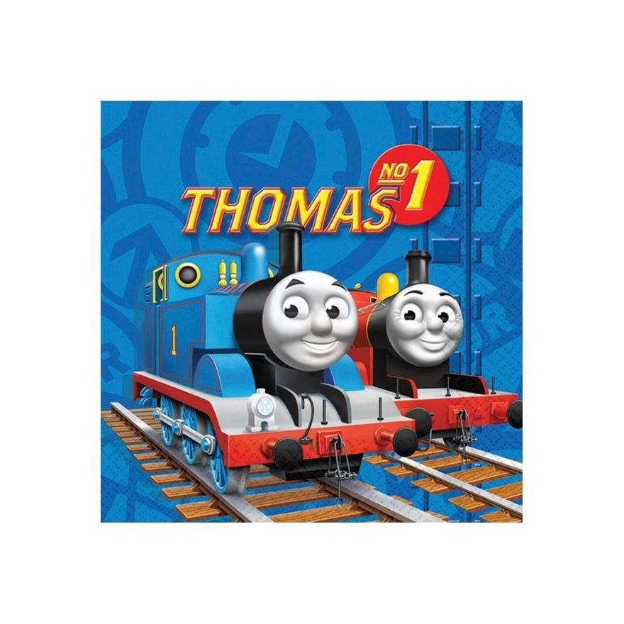 Thomas The Tank Engine Lunch Napkins