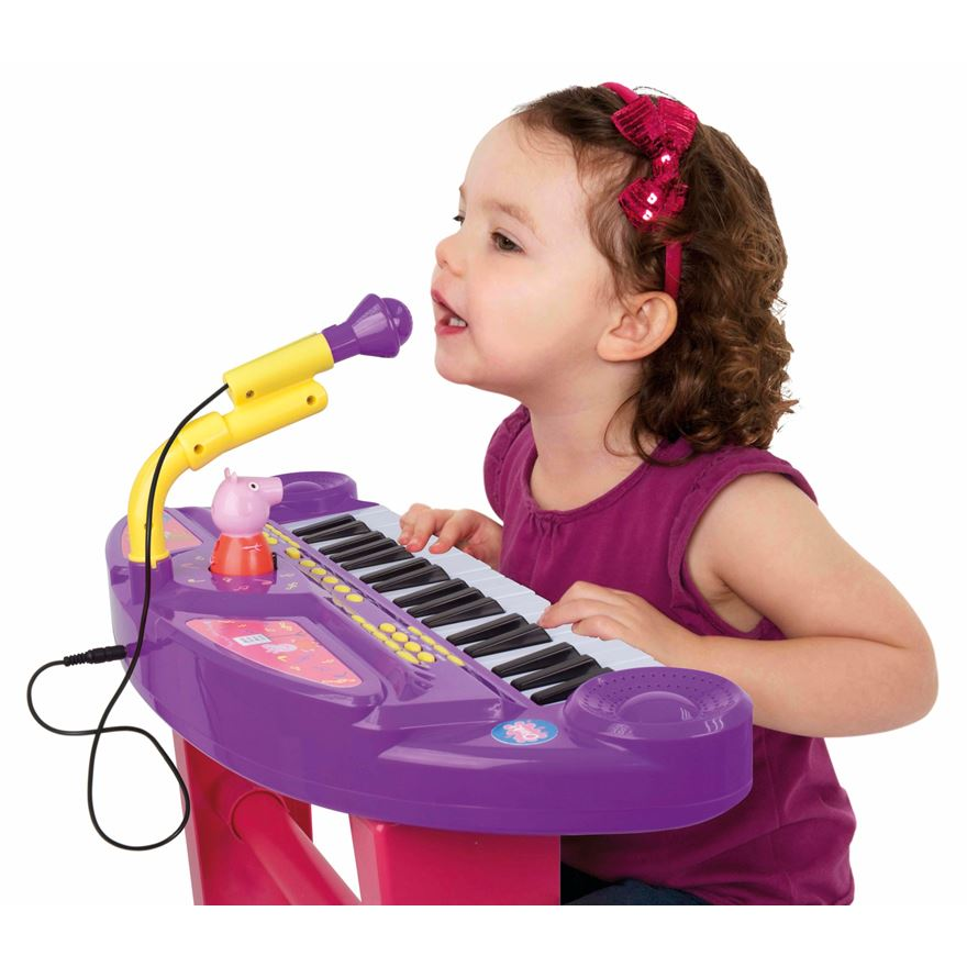 Peppa Pig Keyboard and Microphone image-0
