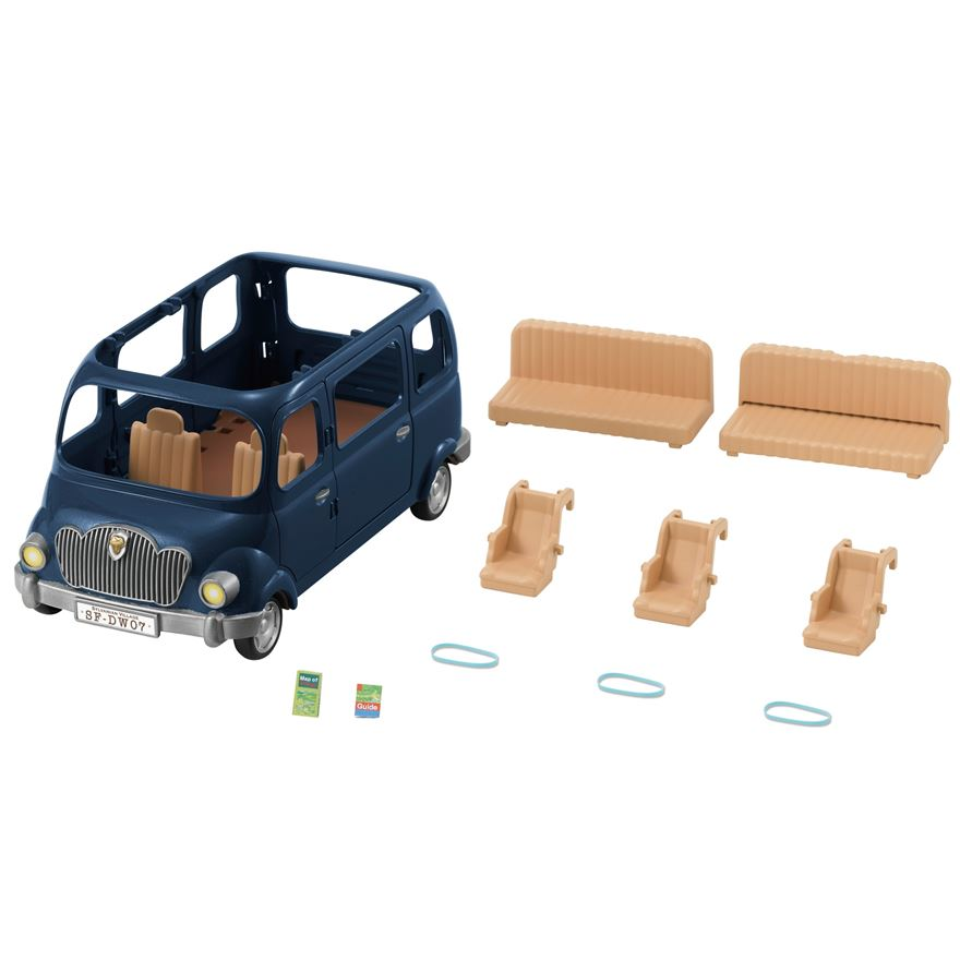 Sylvanian Families Bluebell Seven Seater image-0