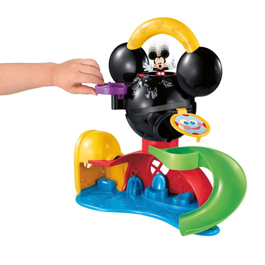 Disney Mickey Mouse Fly n' Slide Clubhouse image-1