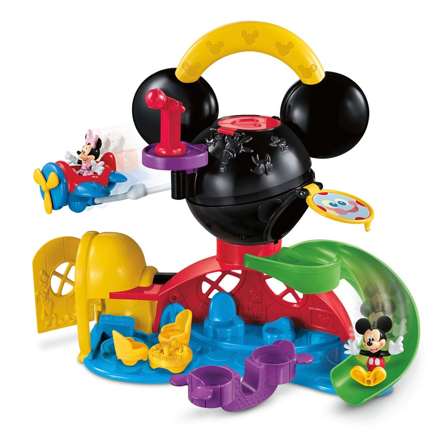 Disney Mickey Mouse Fly n' Slide Clubhouse image-2