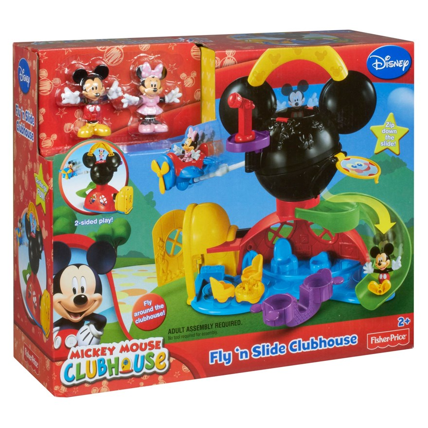 Disney Mickey Mouse Fly n' Slide Clubhouse image-6