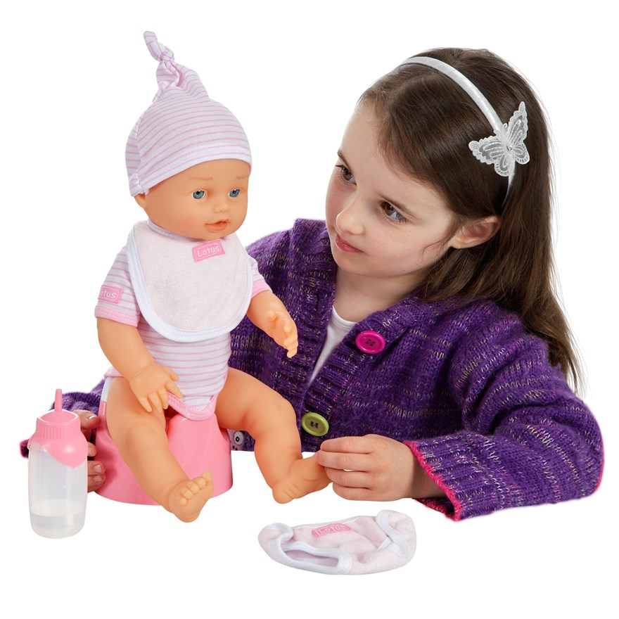 38cm Crying Baby Doll image-0