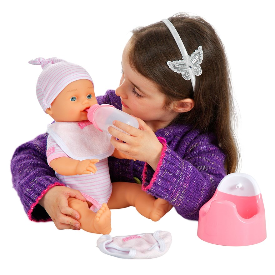 38cm Crying Baby Doll image-6