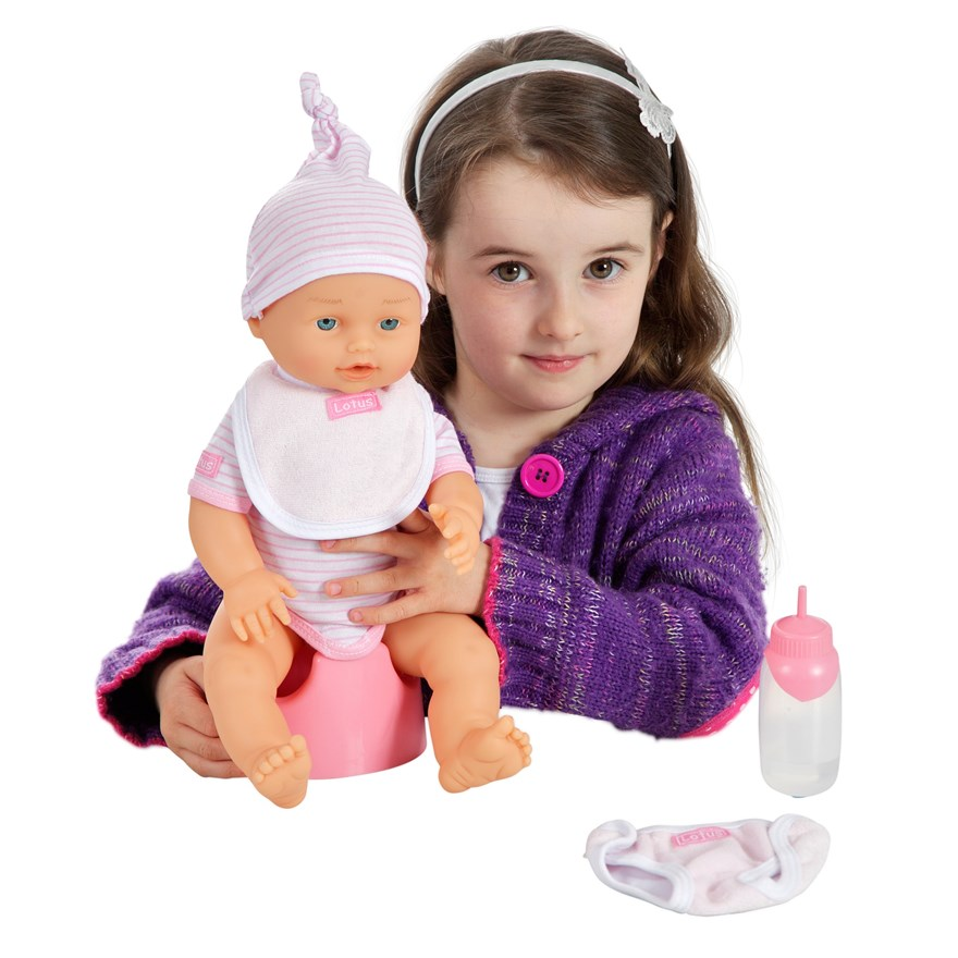 38cm Crying Baby Doll image-7