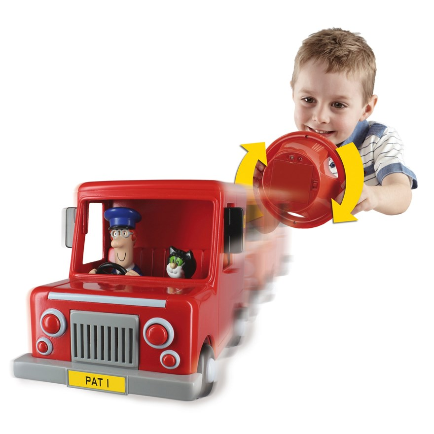 Postman Pat Drive and Steer Van image-0