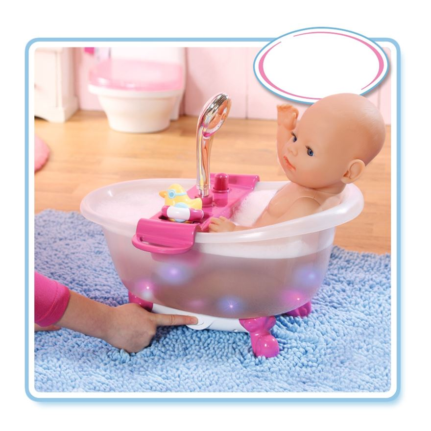 BABY Born Interactive Bathtub with Duck image-0