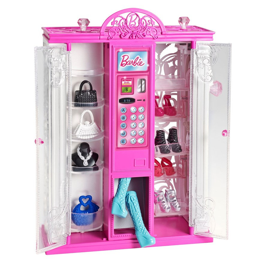 Barbie Life in Dreamhouse Fashion Vending Machine image-0