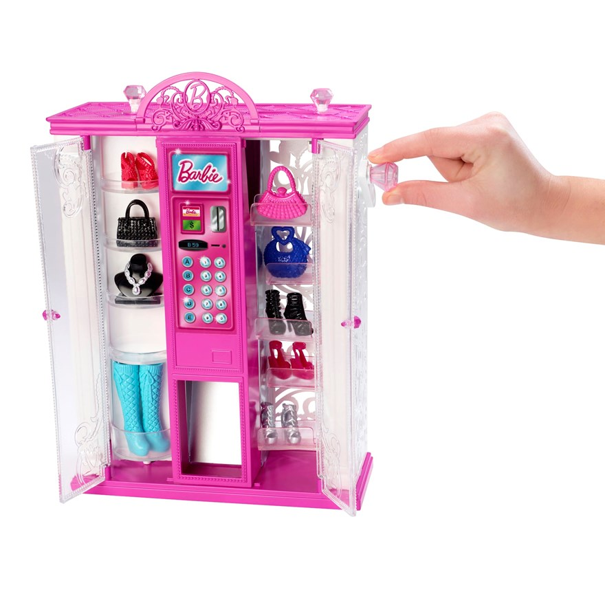 Barbie Life in Dreamhouse Fashion Vending Machine image-1
