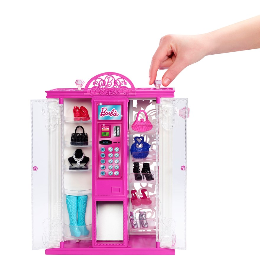 Barbie Life in Dreamhouse Fashion Vending Machine image-2
