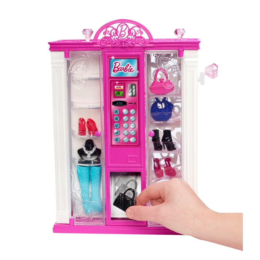 Barbie Life in Dreamhouse Fashion Vending Machine image-3