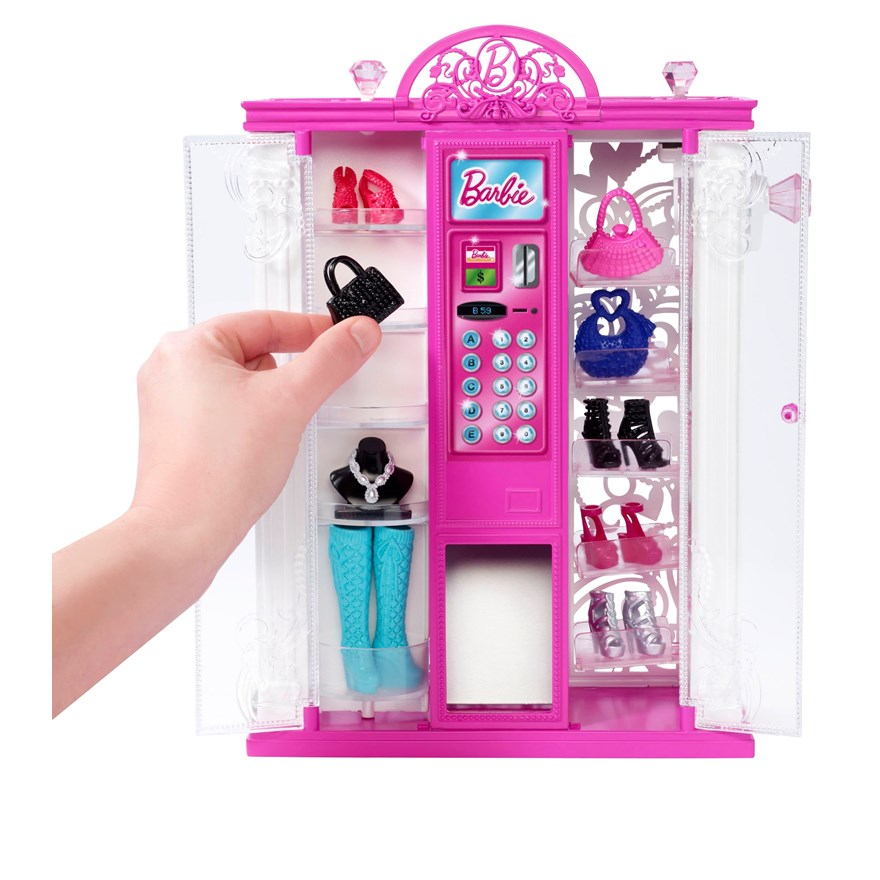 Barbie Life in Dreamhouse Fashion Vending Machine image-4