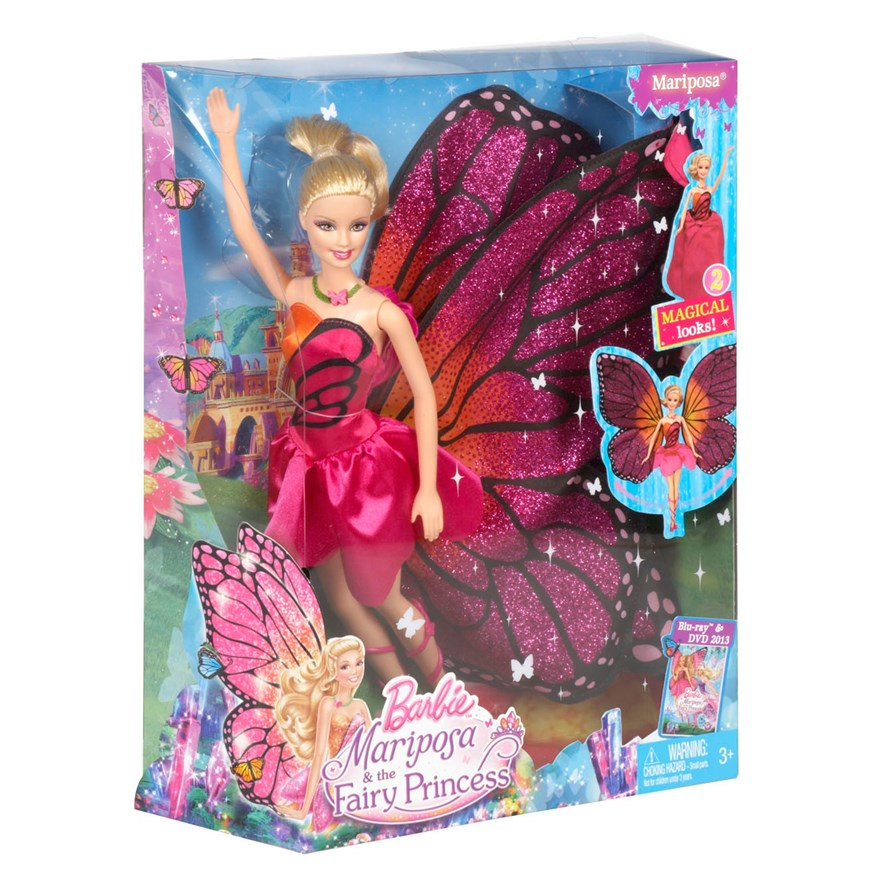Barbie Mariposa Doll image-6