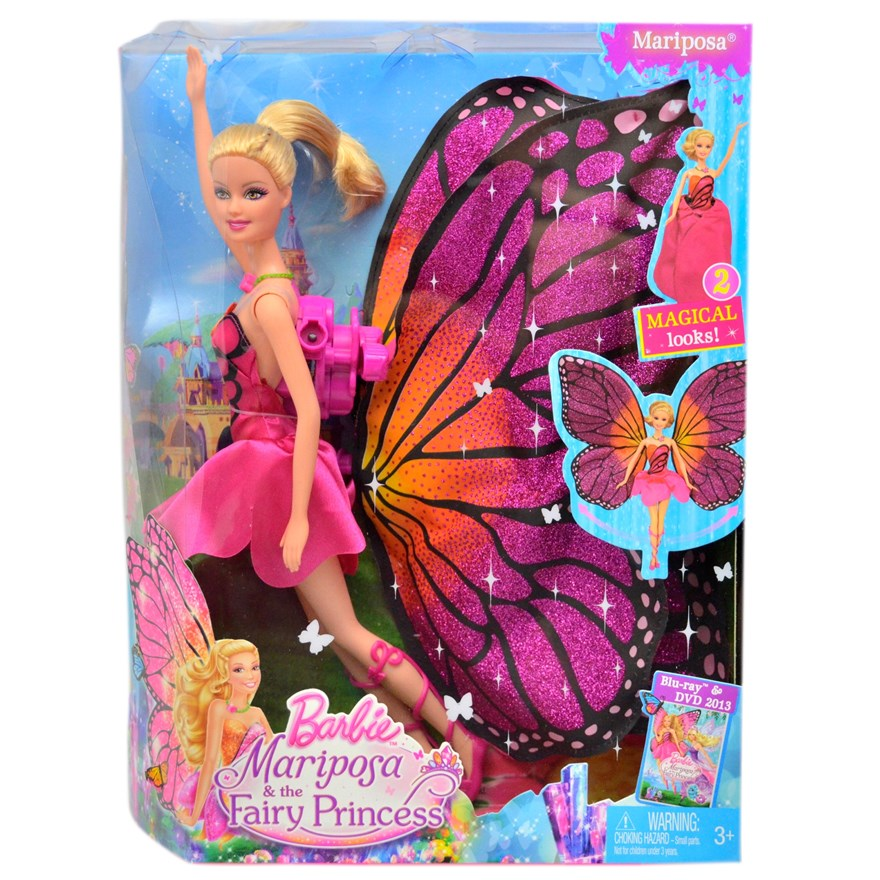Barbie Mariposa Doll image-7