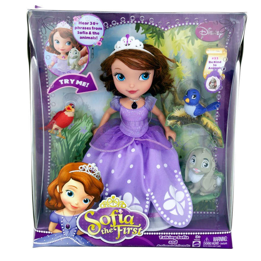 Disney Sofia the First Talking Sofia image-1