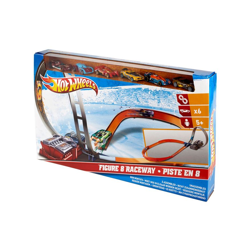 Hot Wheels Figure 8 Raceway Set