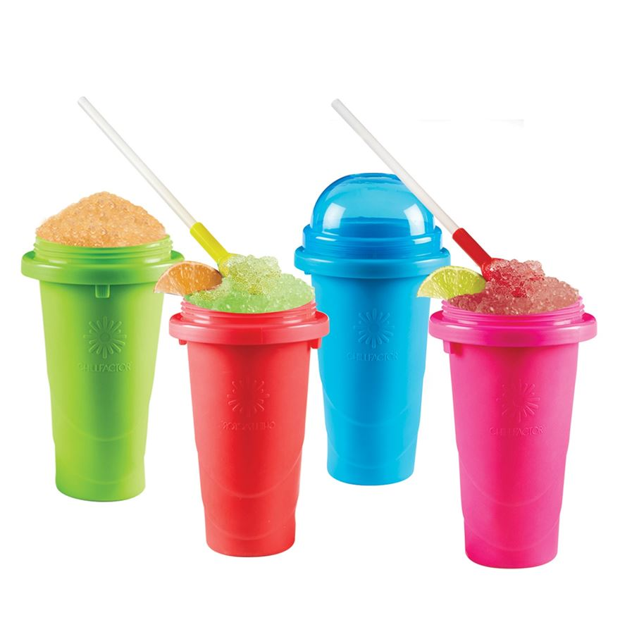 Chill Factor Squeeze Cup Slushy Maker Assortment image-0