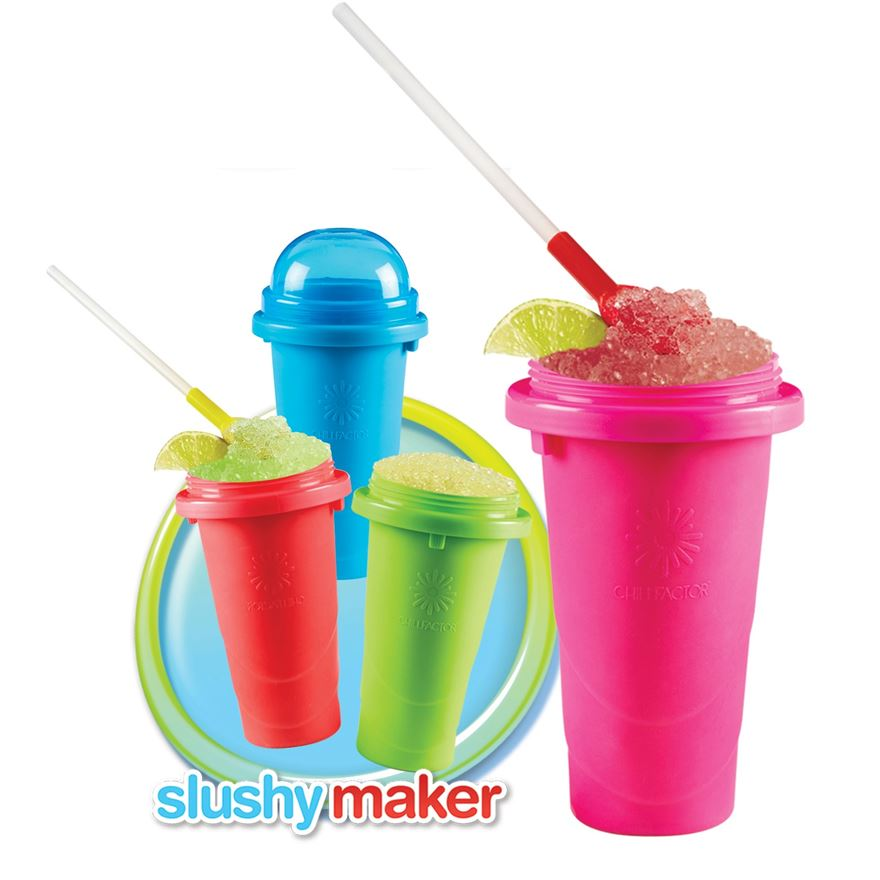 Chill Factor Squeeze Cup Slushy Maker Assortment image-1