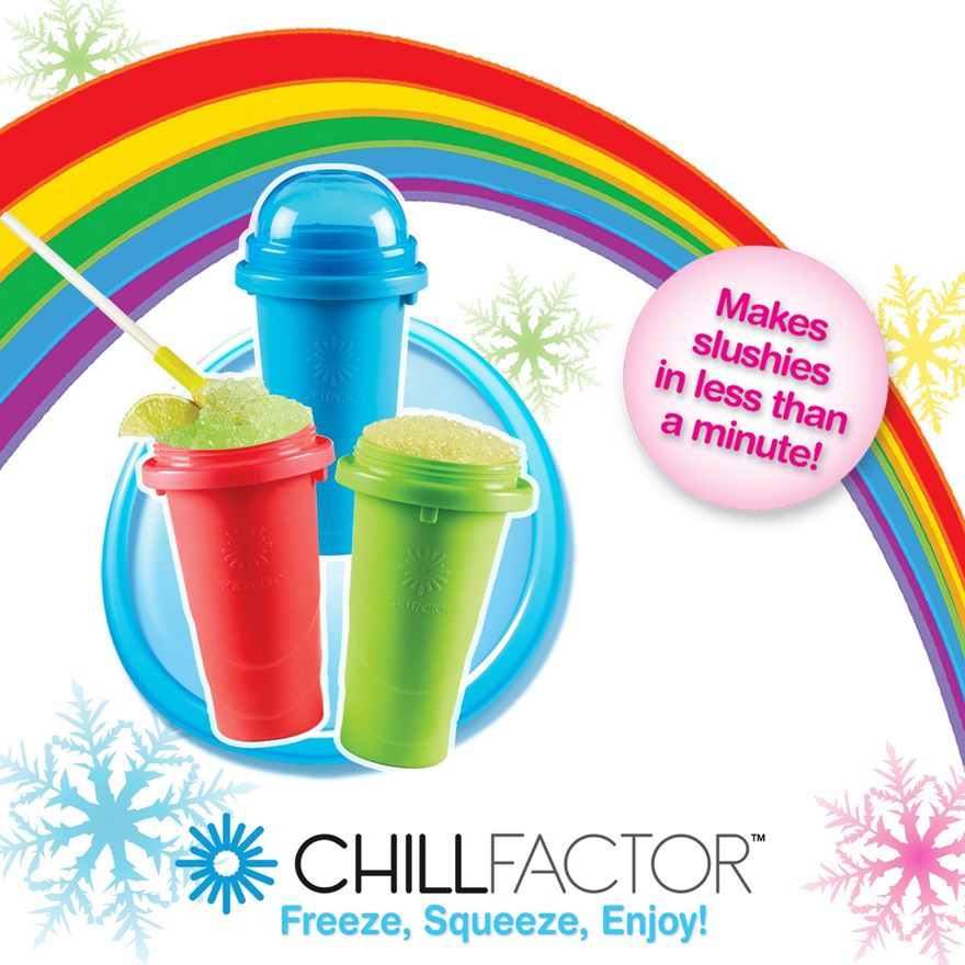 Chill Factor Squeeze Cup Slushy Maker Assortment image-2