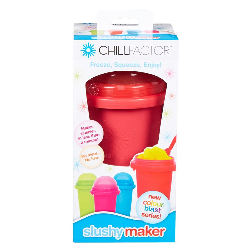 Chill Factor Squeeze Cup Slushy Maker Assortment image-6