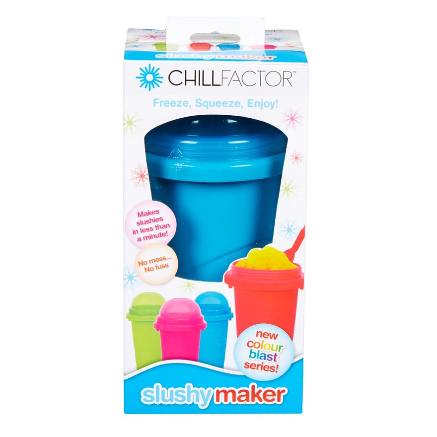 Chill Factor Squeeze Cup Slushy Maker image-8
