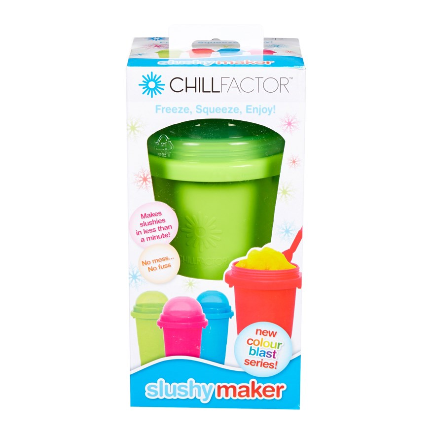 Chill Factor Squeeze Cup Slushy Maker Assortment image-9
