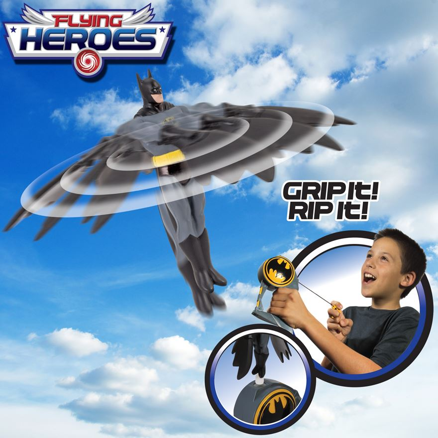 Batman Flying Hero image-2