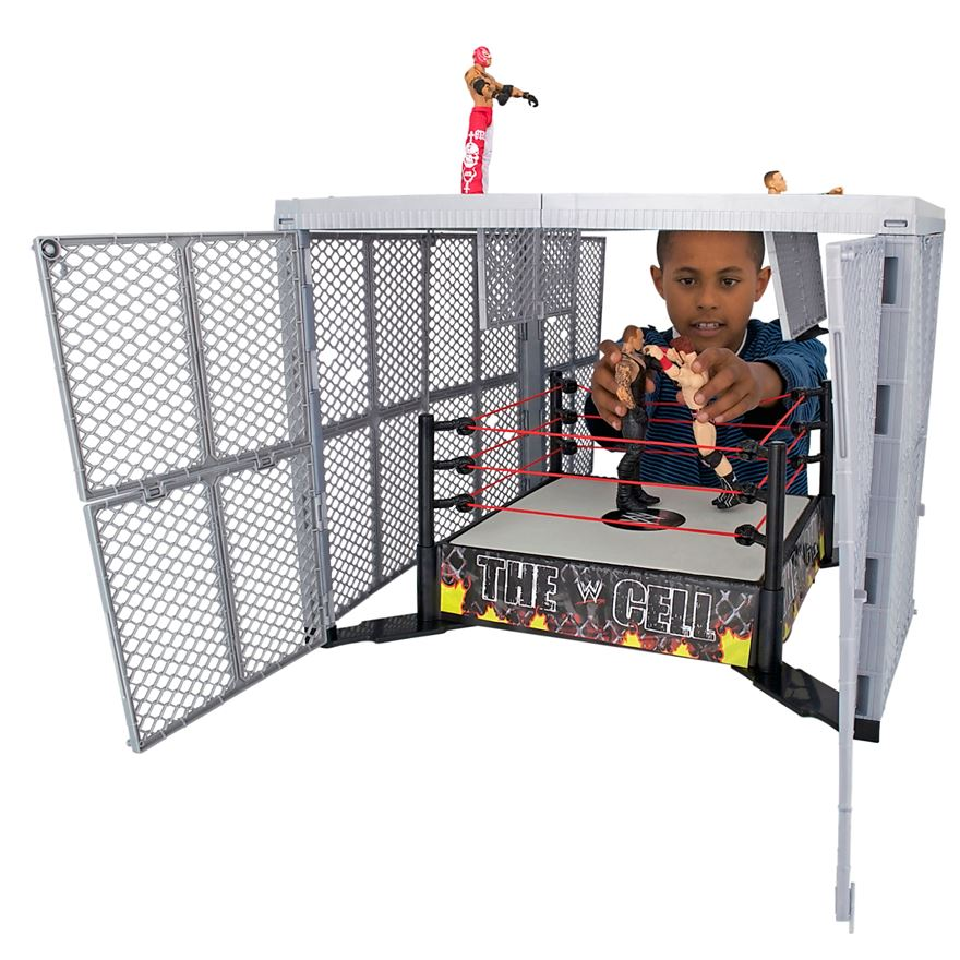 WWE Hell In A Cell Ring image-1