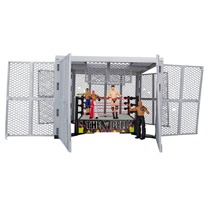 WWE Hell In A Cell Ring image-3