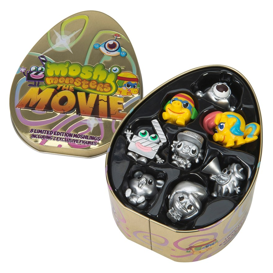 Moshi Monsters Movie Collectors Tin image-0