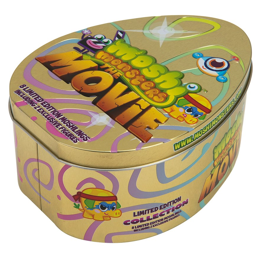 Moshi Monsters Movie Collectors Tin image-2