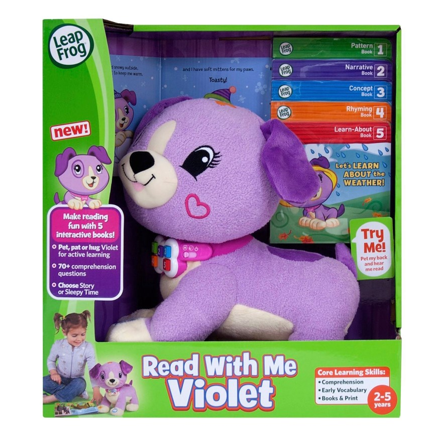LeapFrog Read With Me (Violet) image-4