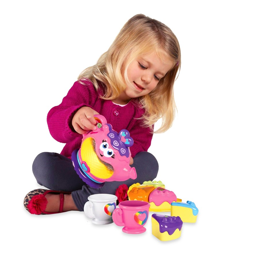 LeapFrog Musical Rainbow Tea Party image-0