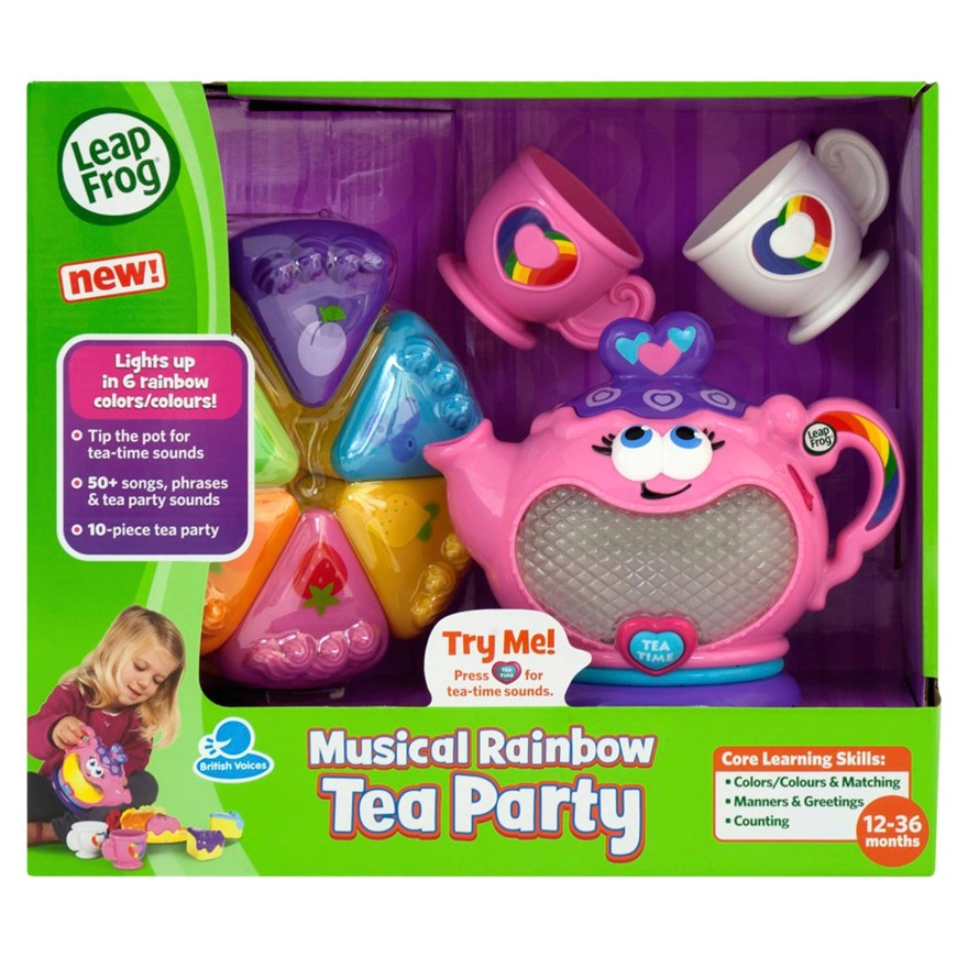 LeapFrog Musical Rainbow Tea Party image-3