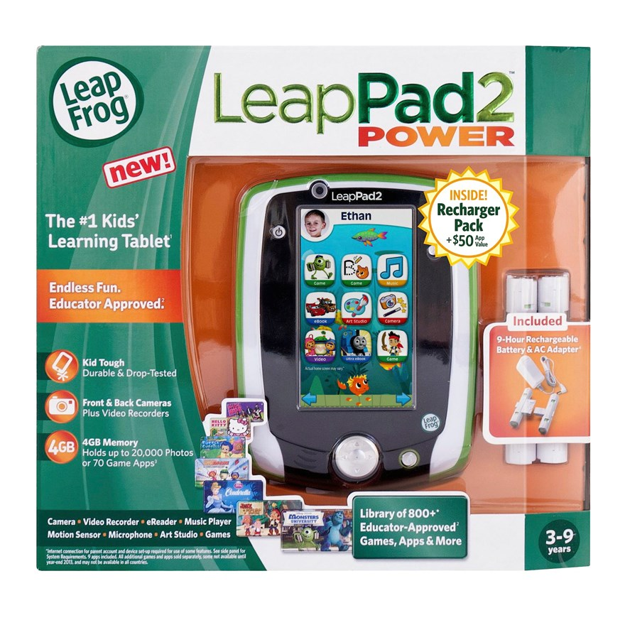 LeapFrog LeapPad2 Power (Green) image-4