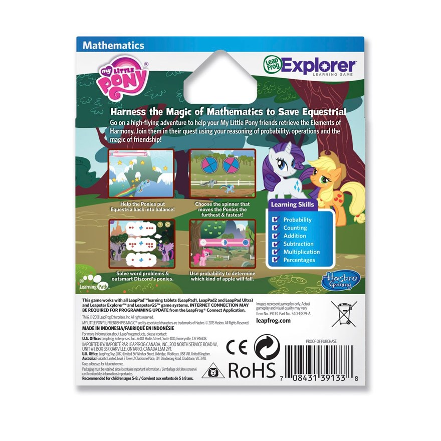 LeapFrog Explorer My Little Pony image-2