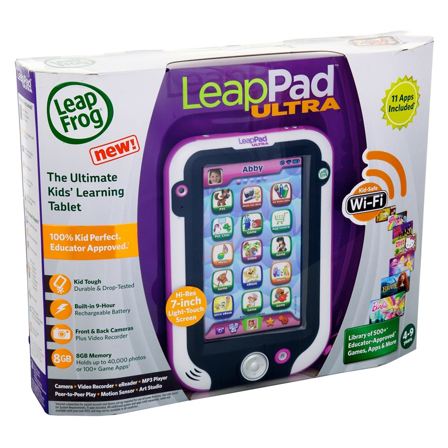 LeapFrog LeapPad Ultra  - Pink image-6