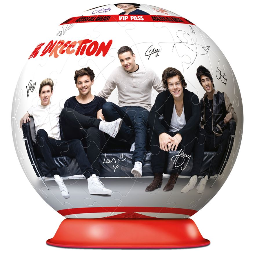 Ravensburger One Direction 72 Piece Puzzleball Jigsaw Puzzle image-1