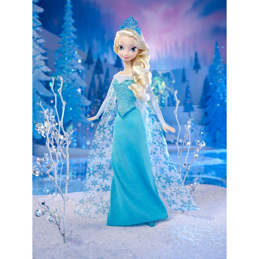 Disney Frozen Sparkle Elsa Doll image-0