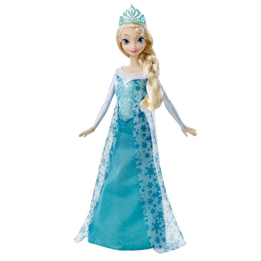 Disney Frozen Sparkle Elsa Doll image-1