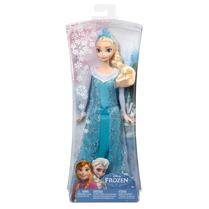 Disney Frozen Sparkle Elsa Doll image-2
