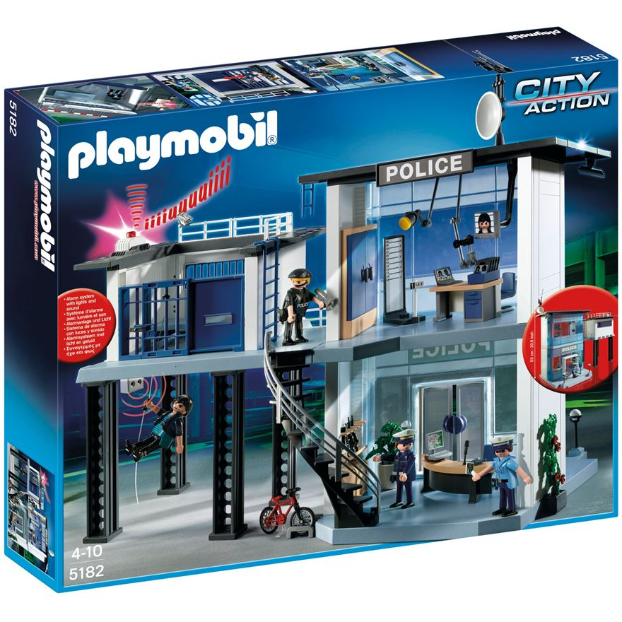 Playmobil Police Station with Alarm 5182 image-0